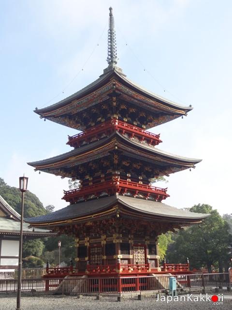 Three Story Pagoda