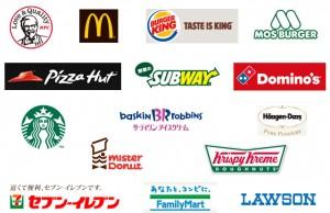Franchise Brands in Japanese