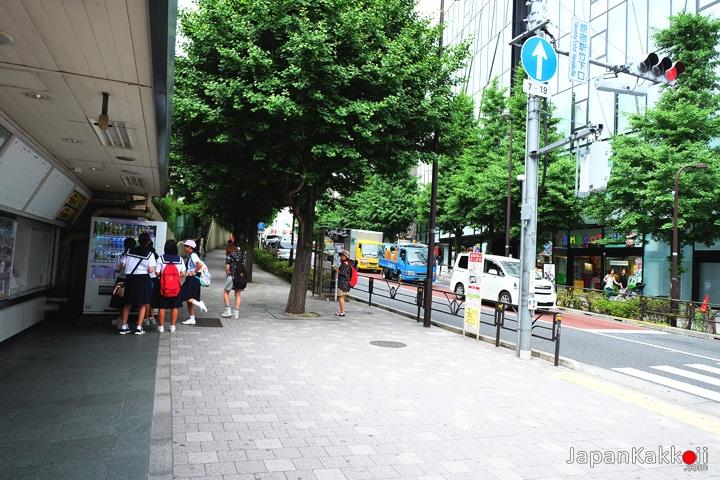 หน้าสถานี Harajuku