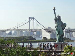Odaiba Liberty Statue - Rainbow Bridge