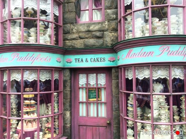 ร้านน้ำชามาดามพุดดี้ฟุต (Madam Puddifoot)
