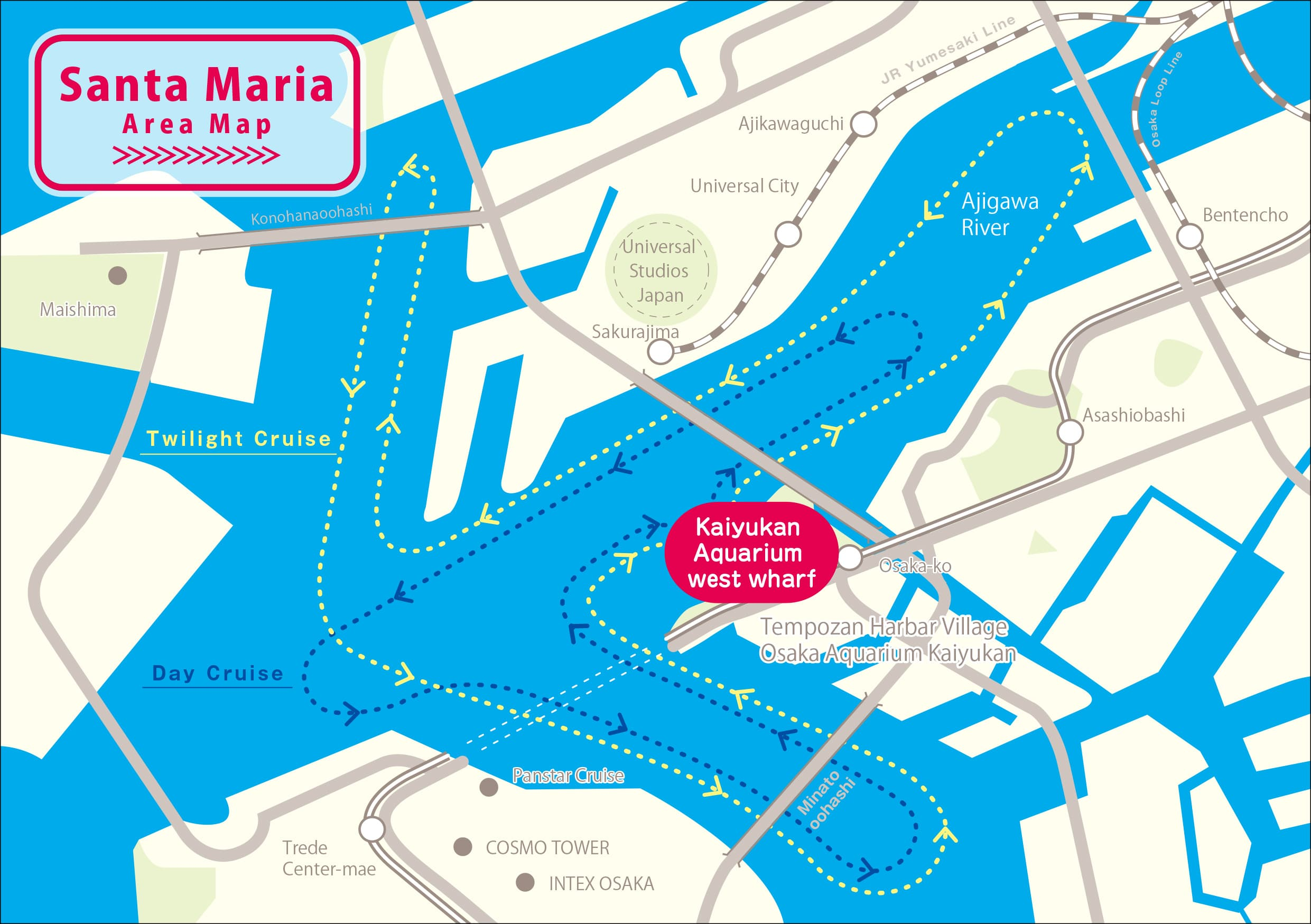 Santa Maria Area Map