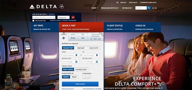 สายการบินเดลต้าแอร์ไลน์ (Delta Air Lines)