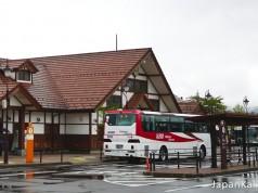 รถบัสไป Kawaguchiko จาก Shinjuku