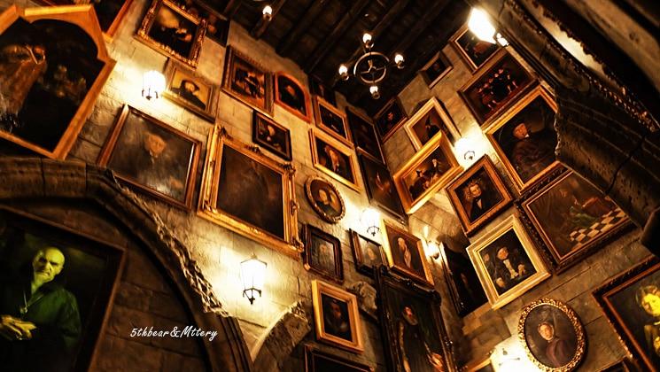 ห้องรวมรูปภาพบุคคลต่างๆ ในฮอกวอตส์