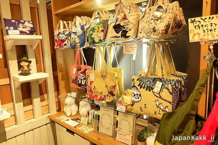 สินค้าในร้าน Moomin
