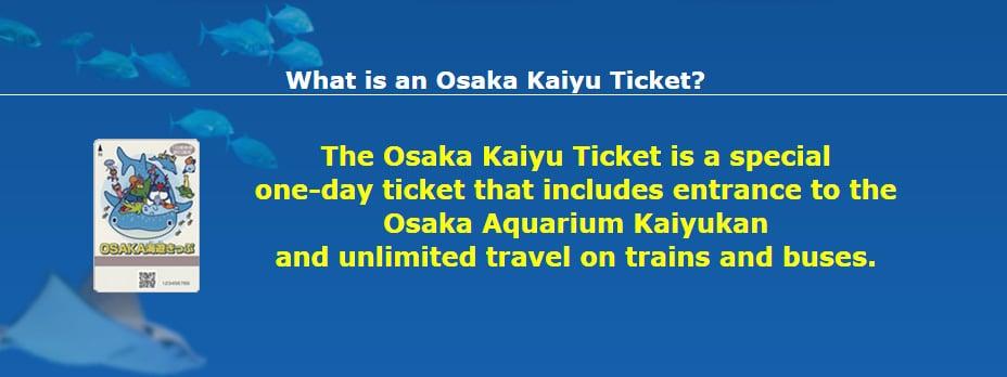Osaka Kaiyu Ticket