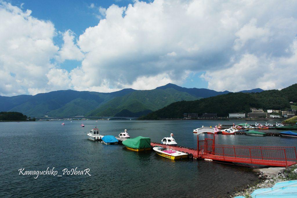 ทะเลสาบคาวากุจิโกะ (Kawaguchiko Lake)
