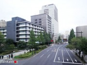 Road and Car in Tokyo