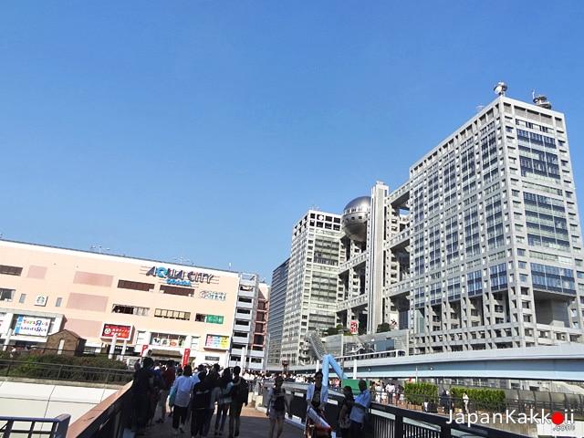 Aqua City- Fuji TV
