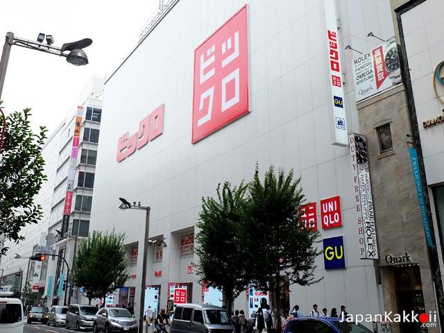 BICQLO BIC CAMERA Shinjuku
