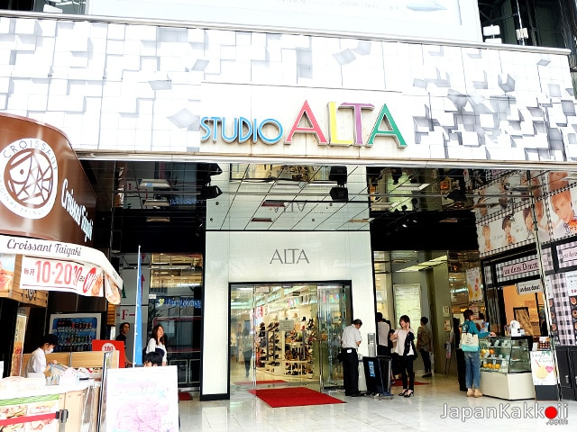 STUDIO ALTA (SHINJUKU ALTA)