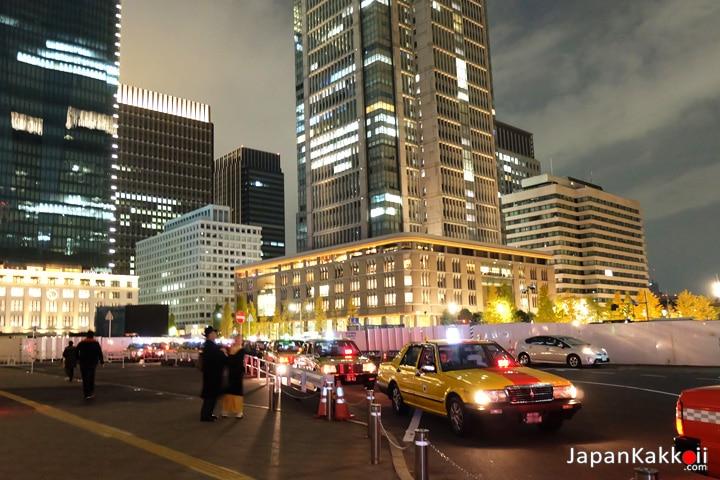 หน้าสถานี Tokyo Station