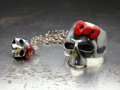 "JAM HOME MADE×HELLO KITTY ""SKULL SERIES"""