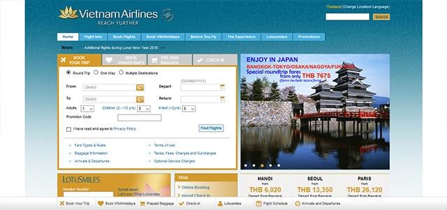 สายการบินเวียดนาม แอร์ไลน์ (Vietnam Airlines)