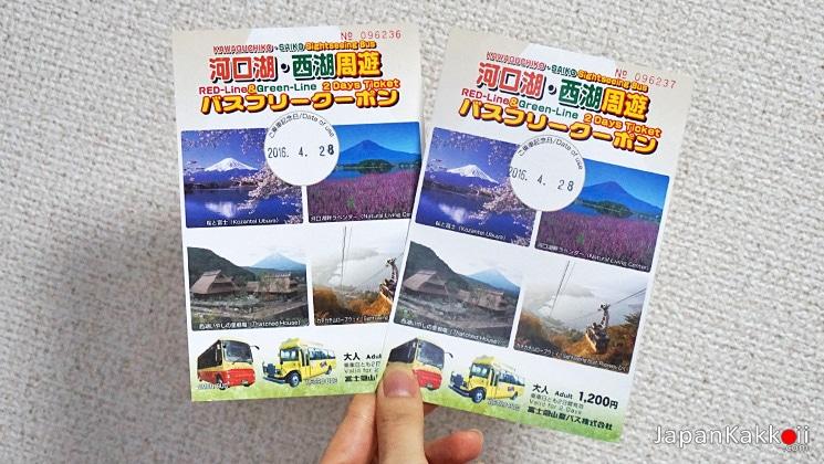 Kawaguchiko Sightseeing Bus Pass