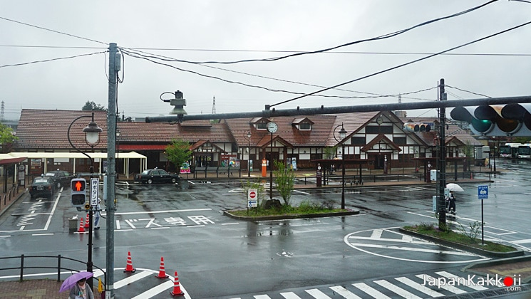 Kawaguchiko Station View