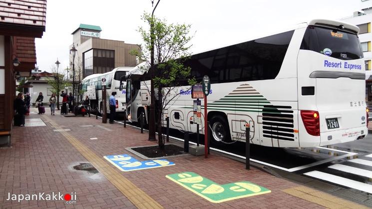 รถบัสไป Kawaguchiko