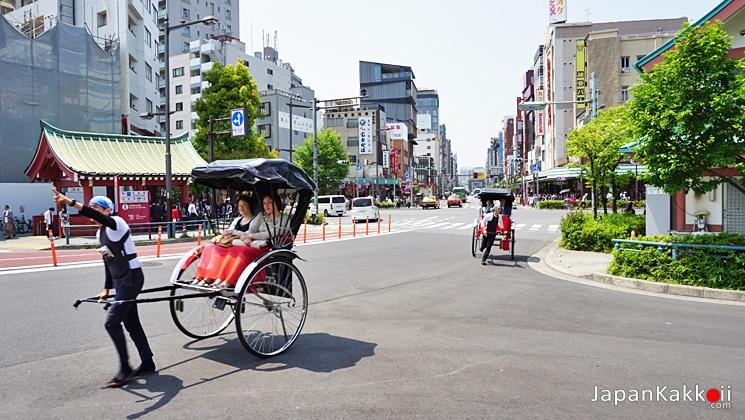 รถลากที่อาซากุสะ