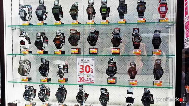 นาฬิกาที่ญี่ปุ่น