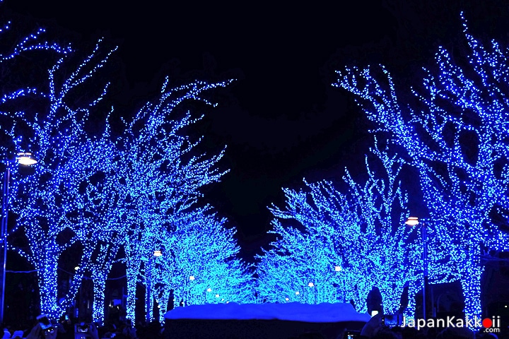 Blue Cave Illumination