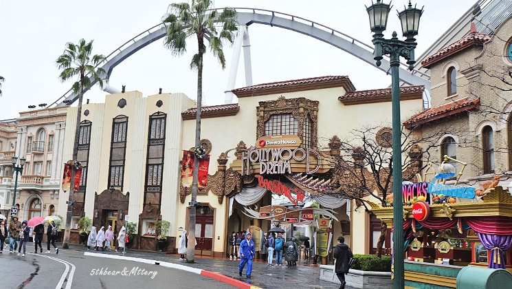 Hollywood Dream - The Ride -Backdrop-