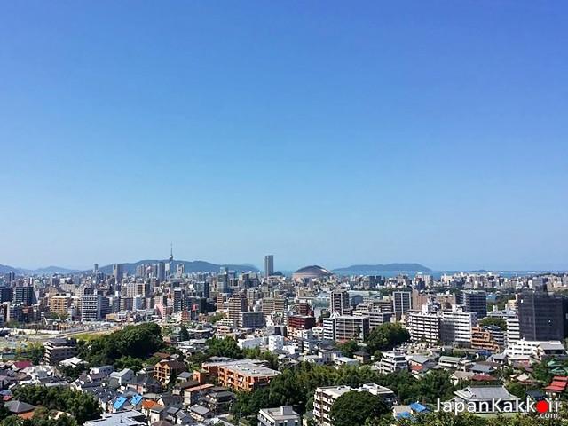 วิวเมืองฟุกุโอกะ (Fukuoka)