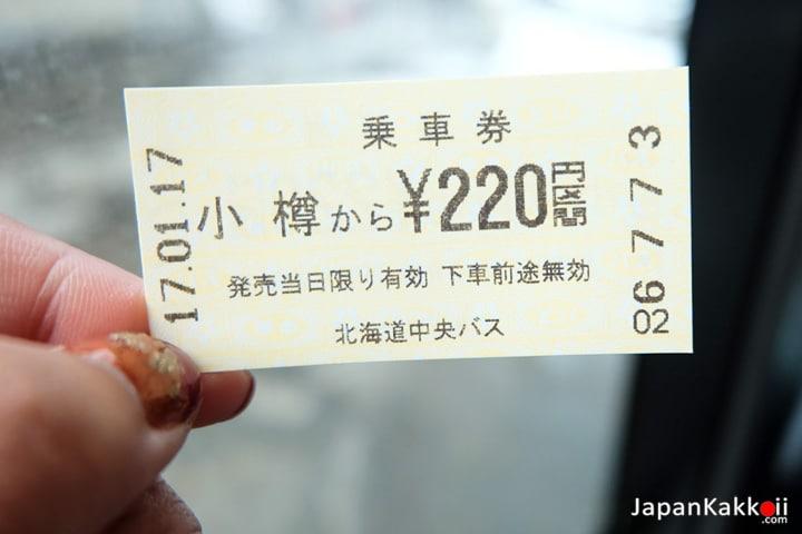 ตั๋วรถบัส