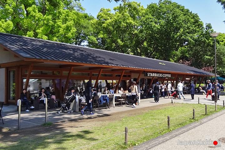 Starbucks Ueno Park