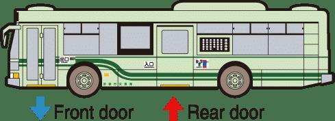 รถบัสในโตเกียว