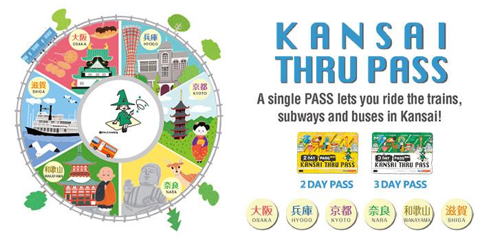 บัตร KANSAI THRU PASS