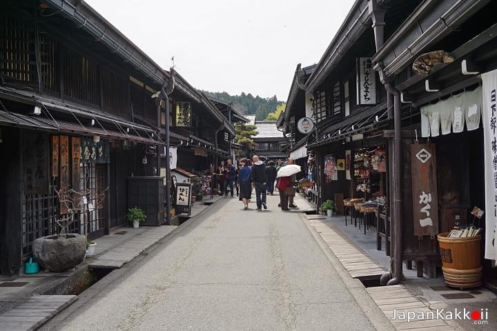 เมืองทาคายาม่า (Sanmachi Takayama)