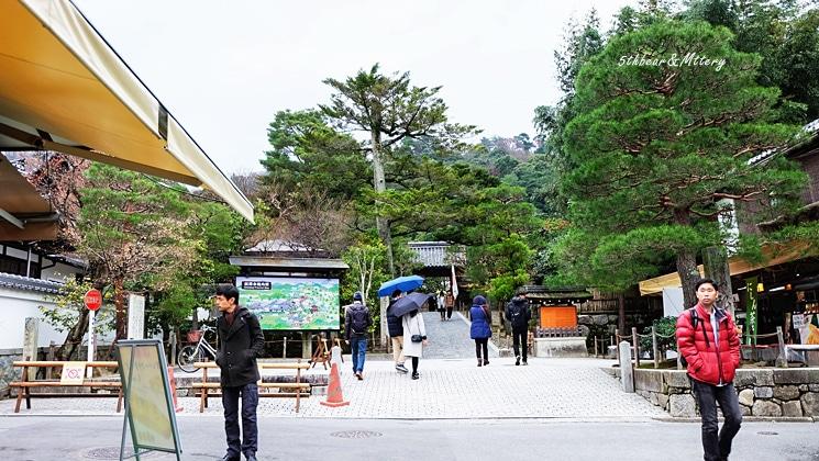 หน้าวัด Ginkakuji Temple
