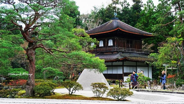 ตั๋วเขาชมวัดกินคะคุจิ (Ginkakuji Temple)