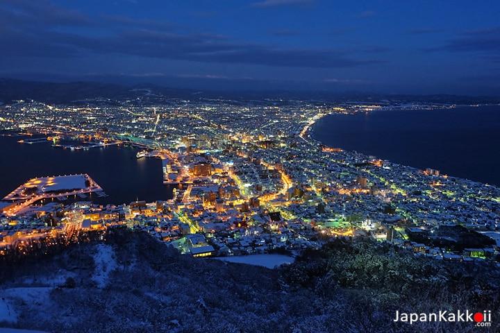 กระเช้าลอยฟ้า ภูเขาฮาโกดาเตะ (Mt. Hakodate Ropeway)