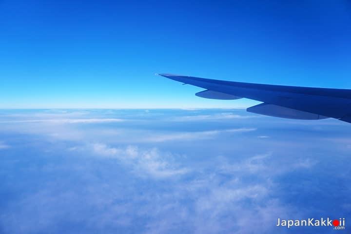 วิวนอกเครื่องบิน