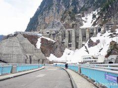 เทือกเขาแอลป์ญี่ปุ่น & เขื่อนคุโรเบะ (Kurobe Dam)