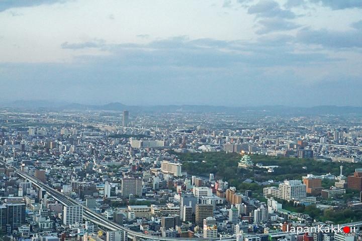 วิวเมืองนาโกยาและ Nagoya Castle