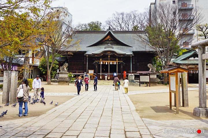 ศาลเจ้าโยฮะชิระ (Yohashira Jina Shrine)