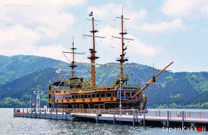 ล่องเรือชมทะเลสาบอาชิ (Lake Ashi) ฮาโกเน่ (Hakone)