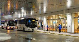 จองรถบัส Highway Bus ไป Kawaguchiko จาก Shinjuku