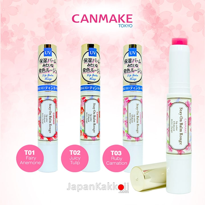 CANMAKE Stay-on Balm Rouge T