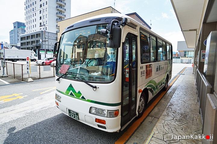 Takayama Sarubobo Bus