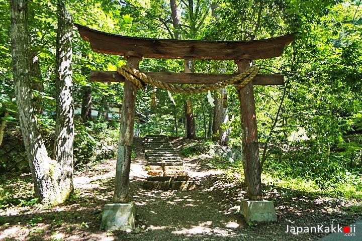 Tateho Shrine Festival Stage