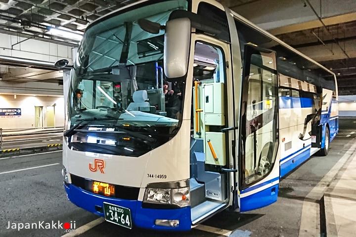 JR Nagoya - Takayama Bus