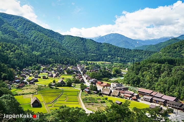 หมู่บ้านชิราคาวาโกะ (Shirakawa-go)