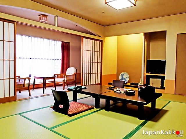 ห้องพักสไตล์ญี่ปุ่นในเรียวกัง