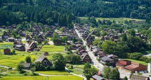 หมู่บ้านชิราคาว่าโกะ (Shirakawa-go) หน้าร้อน