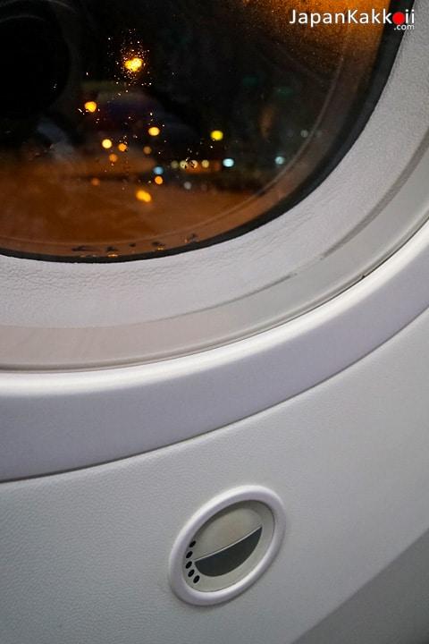 หน้าต่างเครื่องบิน Dreamliner