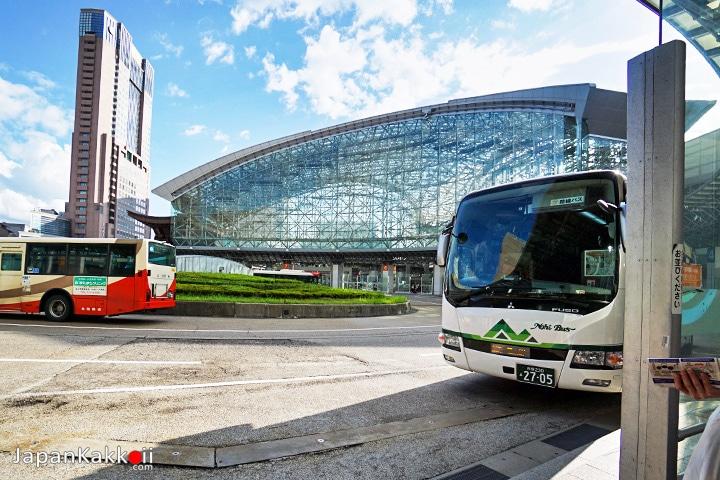 Kanazawa - Shirakawago Nohi Bus